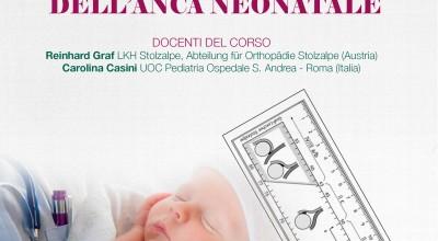 Corso Teorico Pratico Avanzato di Ecografia dell'Anca Neonatale - 23 e 24 Ottobre 2019, Roma