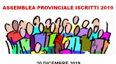 Convocazione Assemblea Provinciale Iscritti 2019